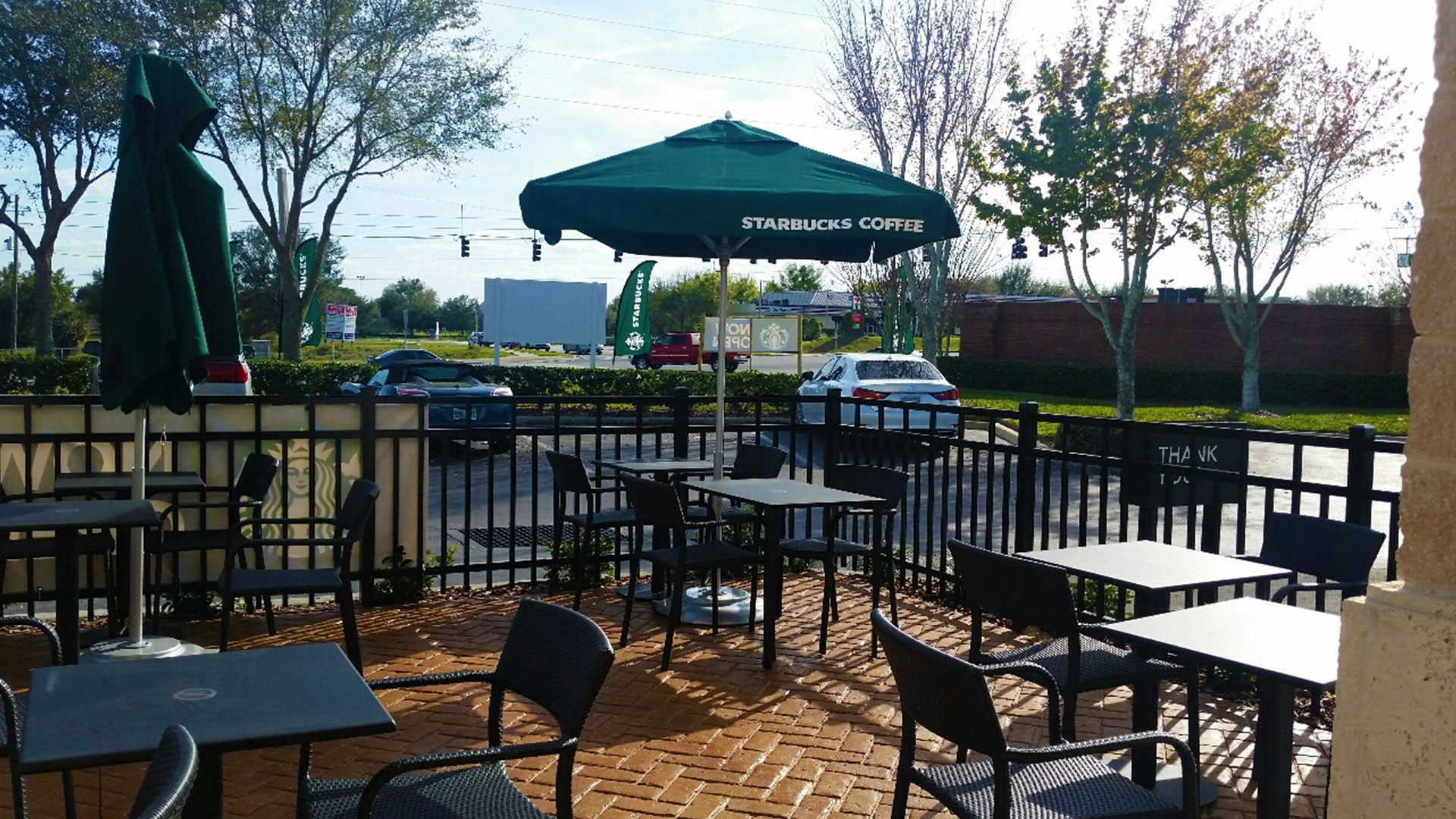 Starbucks Patio